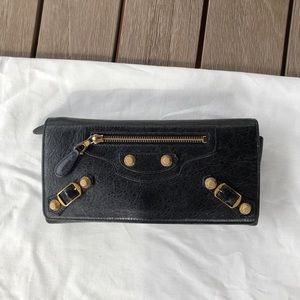 Balenciaga Motocross Giant 12 Continental wallet